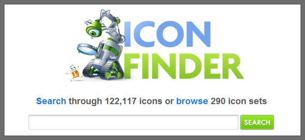 5 web apps (Icon Finder) @ www.mykhailenko.com