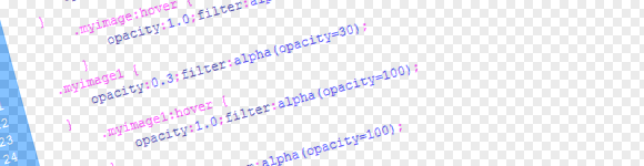   CSS 3 / Opacity in CSS3