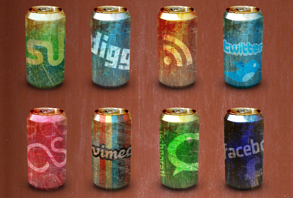 Worn Out Soda Cans
