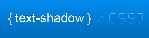 text-shadow CSS3