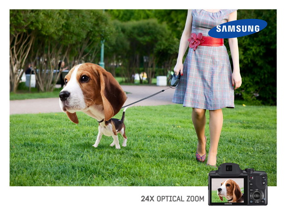 Samsung: Optical Zoom, Dog - собака