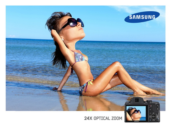Samsung: Optical Zoom, Beach - пляж