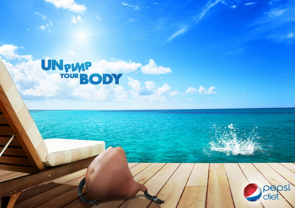 Pepsi Diet: Unpimp your body