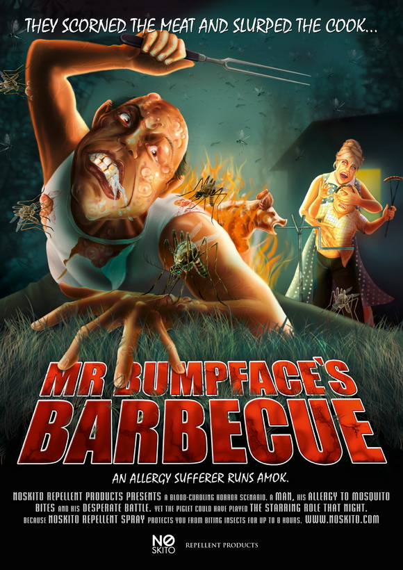 No Skito Repellent Spray: Mr Bumpfaces's Barbeque