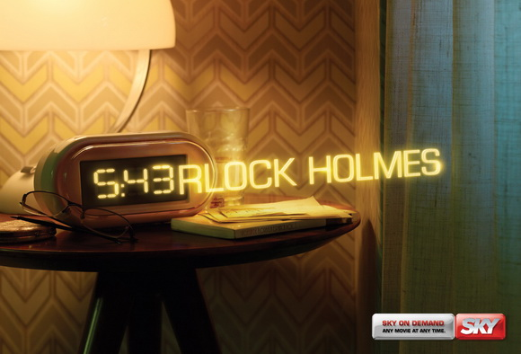 SKY: Any Movie, Any Time, Sherlock Holmes