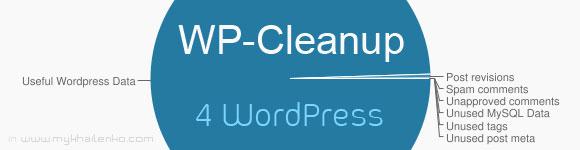 Чистим Базу Данных WordPress с помощью WP-Cleanup