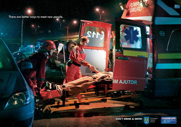 Bucharest Traffic Police: Meet New People: Stretcher