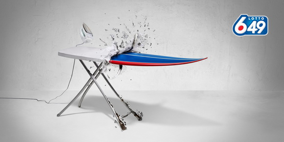 Lotto 649: Ironing Board
